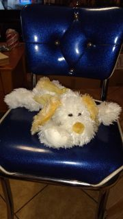 """Super soft and sweet, puppy dog 14"""" from toe to nose. Asking $1.00"""