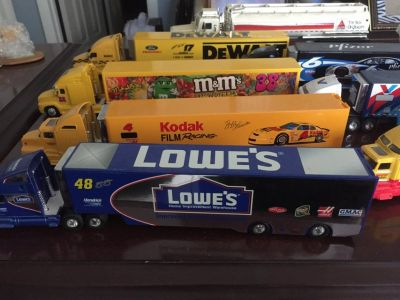 Die Cast Semis and Cars