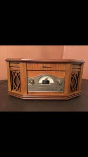 Emerson 4-in-1 Vintage Classic Record Player Turntable