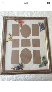 11x14 vintage Gold frame with glass. Meet or ppu In Gallatin.