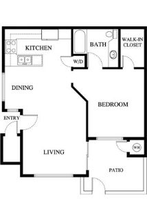 Your luxurious Apartment Home in . Washer/Dryer Hookups!