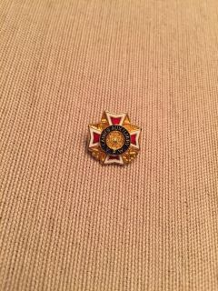 Ladies Auxiliary Pin