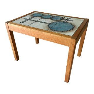 Danish Modern teak side or end table by Gangs M b
