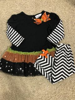 18 Months Halloween Outfit