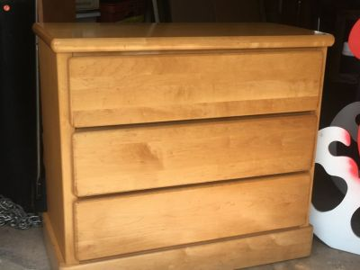 Vintage Little Folks Maple Dresser