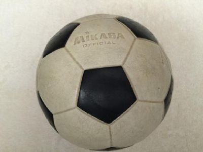Wanted: Old Soccer Balls: Fully molded synthetic rubber: 1970s/1980s