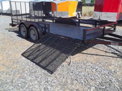 2018 utility trailers 82x16tusg