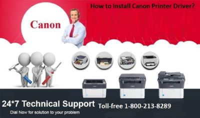 Canon Printer Installation Support Number 1-800-213-8289