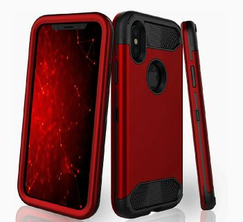 iPhone X Case,Three Layer Heavy Duty Protection Plastic + TPU Hybrid Protective Cover High Impact Resistant Shockproof Case