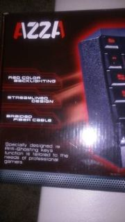 AZZA Red Color Backlighting Delta Gaming Keyboard