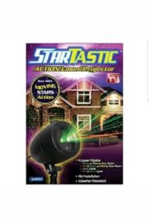 NEW Startastic Action Laser Projector Christmas Light