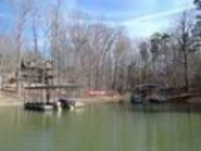 Fair Play Lake Hartwell Waterfront Lot with a Covered Dock