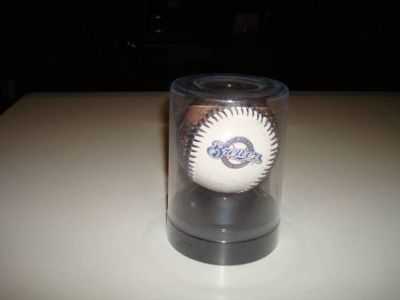 Authentic 2009 Milwaukee Brewers Logo Rawlings Promo Baseball Miller