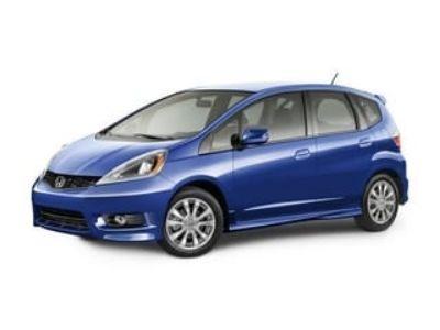 2012 Honda Fit Sport (Alabaster Silver)