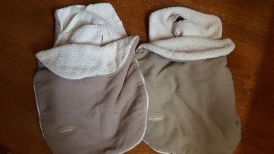 JJ Cole Bundle Me Infant beige Seat Covers