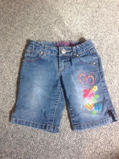 Girls Jeans Shorts Size 7
