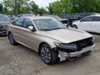 Salvage 2019 HONDA ACCORD HYBRID for Sale