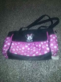 Minnie mouse diaper bag used good condition
