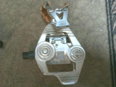 Shimano Adamas AX pedals w/ toe clips