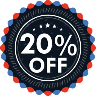 20% off purchase of $10 or more
