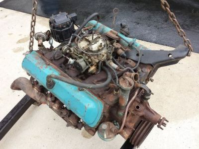 Purchase 1979 Olds 350 V8 Gas Engine motorcycle in Mechanicsburg, Pennsylvania, United States, for US $300.00