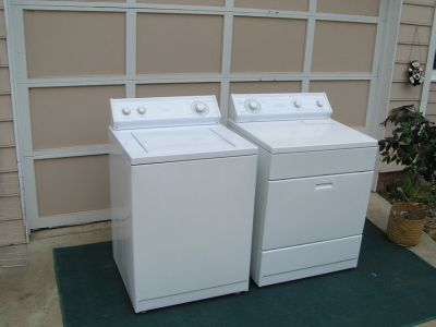 Washer and Dryer Whirlpool Set with 3 months Guarantee