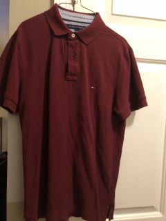 Very nice Tommy Hilfiger polo - men s size small