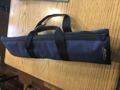 New Eddie Bauer Apron and BBQ Tool Set Case
