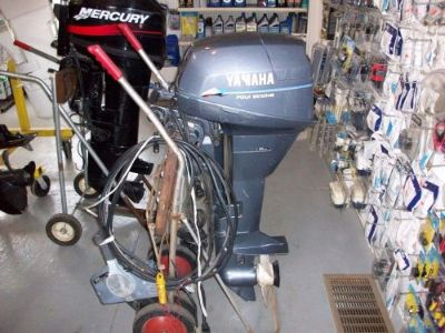 Find 1999 9.9 HP YAMAHA OUTBOARD 4-STROKE LONG SHAFT REMOTE NO CONTROLS motorcycle in Eagle, Michigan, United States, for US $1,100.00