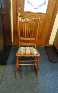 Old rocking chair wood