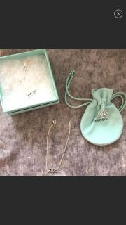 100% Authentic Tiffany & Co Paloma Picasso LOVE necklace, bracelet, & ring