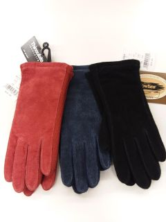 New! Fownes Thinsulate suede gloves.