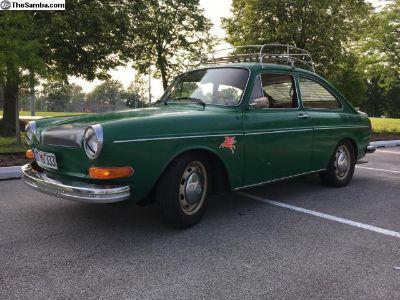 1973 Volkswagen Type 3 Fastback VW