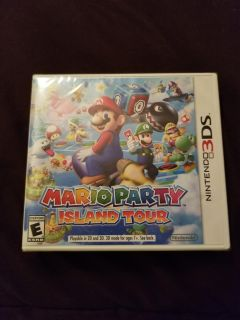 3DS Mario Party NEW not opened