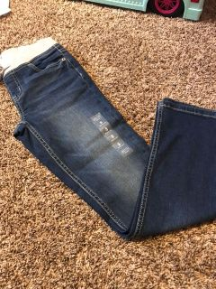 Size 8 Justice skinny jeans