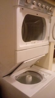 Whirlpool stacked washer dryer
