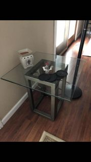 Pier 1 Glass end tables - have 2 available!