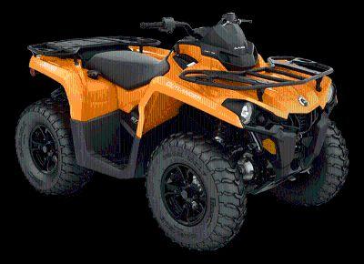 2018 Can-Am Outlander DPS 570 Utility ATVs Leesville, LA