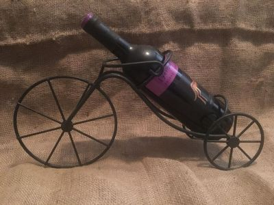 Bicycle wine holder (wine not included)