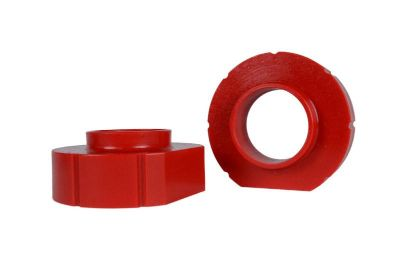 "Sell Jeep XJ Grand ZJ Wrangler TJ 1"" RED Polyurethane Coil Spring Lift Spacers PAIR motorcycle in Tooele, Utah, US, for US $25.99"