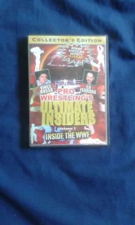 Pro Wrestling's Ultimate Insiders Volume 1: Inside The WWF - Collector's Edition DVD 2005