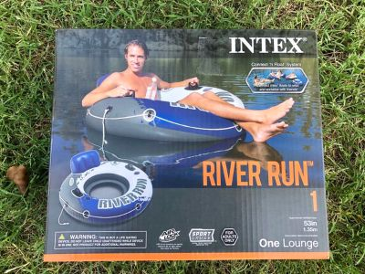 BNIB Intex River Run tube $10