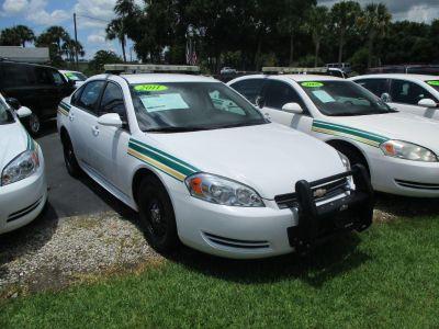 2011 Chevrolet Impala Police (White)