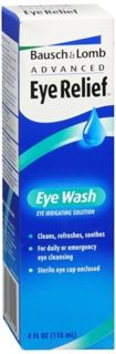 Bausch and lomb advanced eye relief eye wash