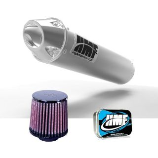 Find HMF Honda Rancher 400 2004 - 2007 Brushed/Pol Slip On Exhaust Muffler + JET + KN motorcycle in Berea, Ohio, United States, for US $304.86
