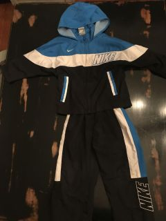 Nike size 2T zip up and pants