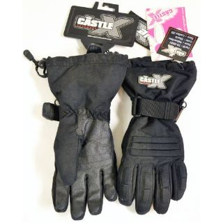 Find CASTLE X WOMENS BLACK PLATFORM SNOWMOBILE GLOVE SIZE XS 73-6331 motorcycle in Lanesboro, Massachusetts, United States, for US $34.99