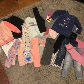 HUGE 25 piece Girls 18month Cat and Jack Lot!!