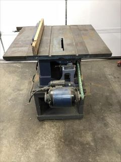 Old but working 1940s Craftsman Table Saw