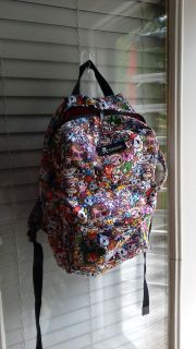 Large Tokidoki backpack. Needs a new zipper otherwise great condition. Only used to store Tokidoki figures